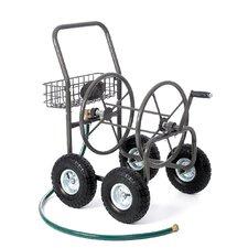 Residential 4 Wheel Hose Reel Cart