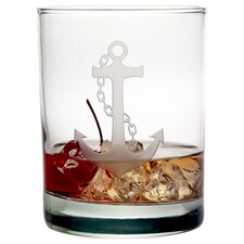 Anchor Rocks Glass (Set of 4)