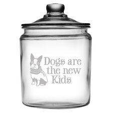 Dogs are the New Kids Half Gallon Treat Jar