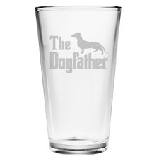 Dogfather Pilsner Glass (Set of 4)