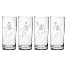 Dance of the Dead Highball Glass (Set of 4)