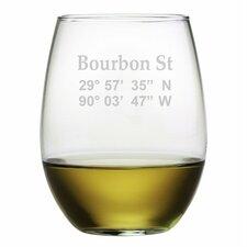 Cordelia 4 Piece 21 oz. Stemless Wine Glass (Set of 4)
