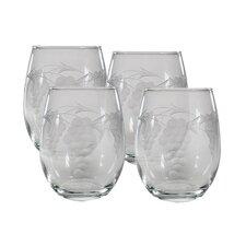 Sonoma Stemless Wine Glass (Set of 4)