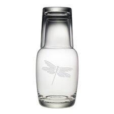 2-Piece Dragonfly Night Bottle Set