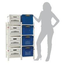 "11"" H Eight Shelf Shelving Unit Add-on"