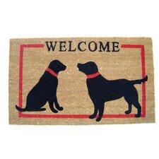 Dogs Welcome Doormat