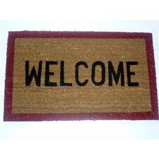 Stenciled Welcome Doormat