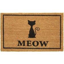 Meow Doormat