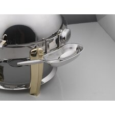 Round Roll Top Detachable Stainless Steel Spoon Holder