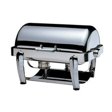 Odin Oblong Roll Top Chafing Dish with Plated Legs