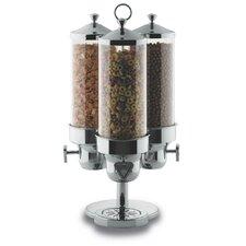 375 Oz. Triple Canister Cereal Dispenser
