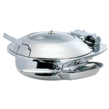 Medium Round Chafing Dish with Glass Lid