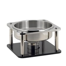 Domino 4 4/5-qt. Stainless Steel Round Hot Station