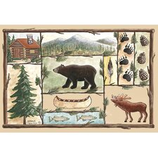 Home Accents Cabin Area Rug