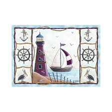 Home Accents Lighthouse Area Rug