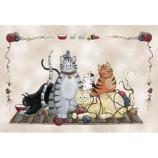 Home Accents Granny's Cats Area Rug