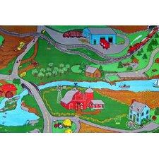 Custom Printed Rugs Farm