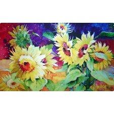 Summer Sunflower Doormat