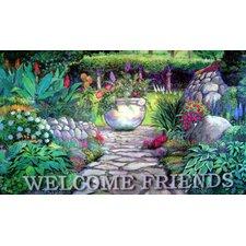 Welcome Garden Gate Doormat