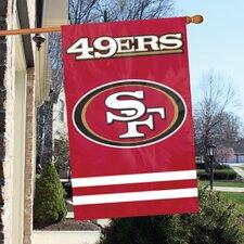 NFL Appliqué House Flag