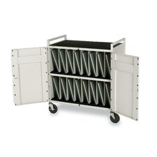Tech-Guard 15-Compartment Laptop Charging Cart