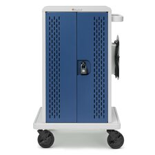 36-Compartment Tablet Storage Cart