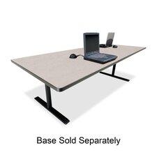 "Rectangular Conference Table,42""x120""x29"",Gray Nebula"