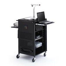 Multimedia Compact Presentation AV Cart