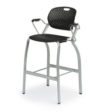 Explore Arm Stool with Glides
