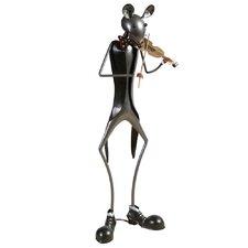Statue Musikmaus Violine