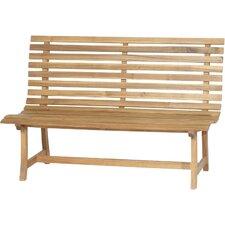 2-Sitzer Bank Santana aus Holz