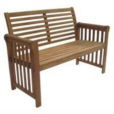 Sequoia Wood Garden Bench