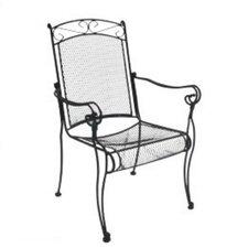 Charleston High Back Dining Arm Chair, Set of 4