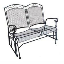 Charleston Wrought Iron Garden Bench