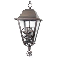 Americana 3 Light Outdoor Hanging Lantern