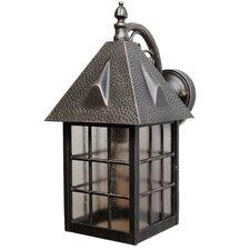 Kiss Series 1 Light Outdoor Wall Lantern