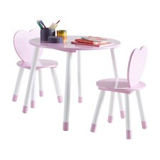 3-Piece Princess Dining Set