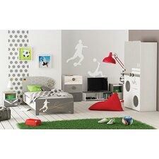 Anpassbares Schlafzimmer-Set Foot, 90 x 200 cm