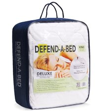 Deluxe Defend-A-Bed Quilted Waterproof Mattress Pad and Protector