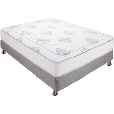 "Decker 10.5"" Firm Hybrid Memory Foam & Innerspring Mattress"