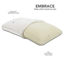 Embrace Firm Latex Pillow, 100 Percent Ventilated Latex Foam
