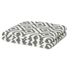 Eco Designer Mod Squares Throw Blanket