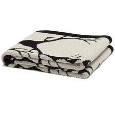 Eco Designer Stag Longhorn Throw Blanket