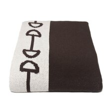 Horse Bit Cotton Throw