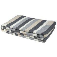 Block Stripe Throw Blanket