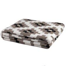 Dot Matrix Throw Blanket