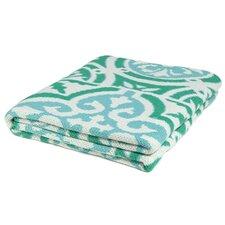 Vintage Tile Throw Blanket