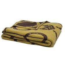 Reversible Mr. Fox Throw Blanket