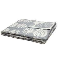 Reversible Petite Pineapple Throw Blanket
