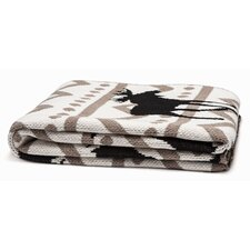Mod Moose Throw Blanket